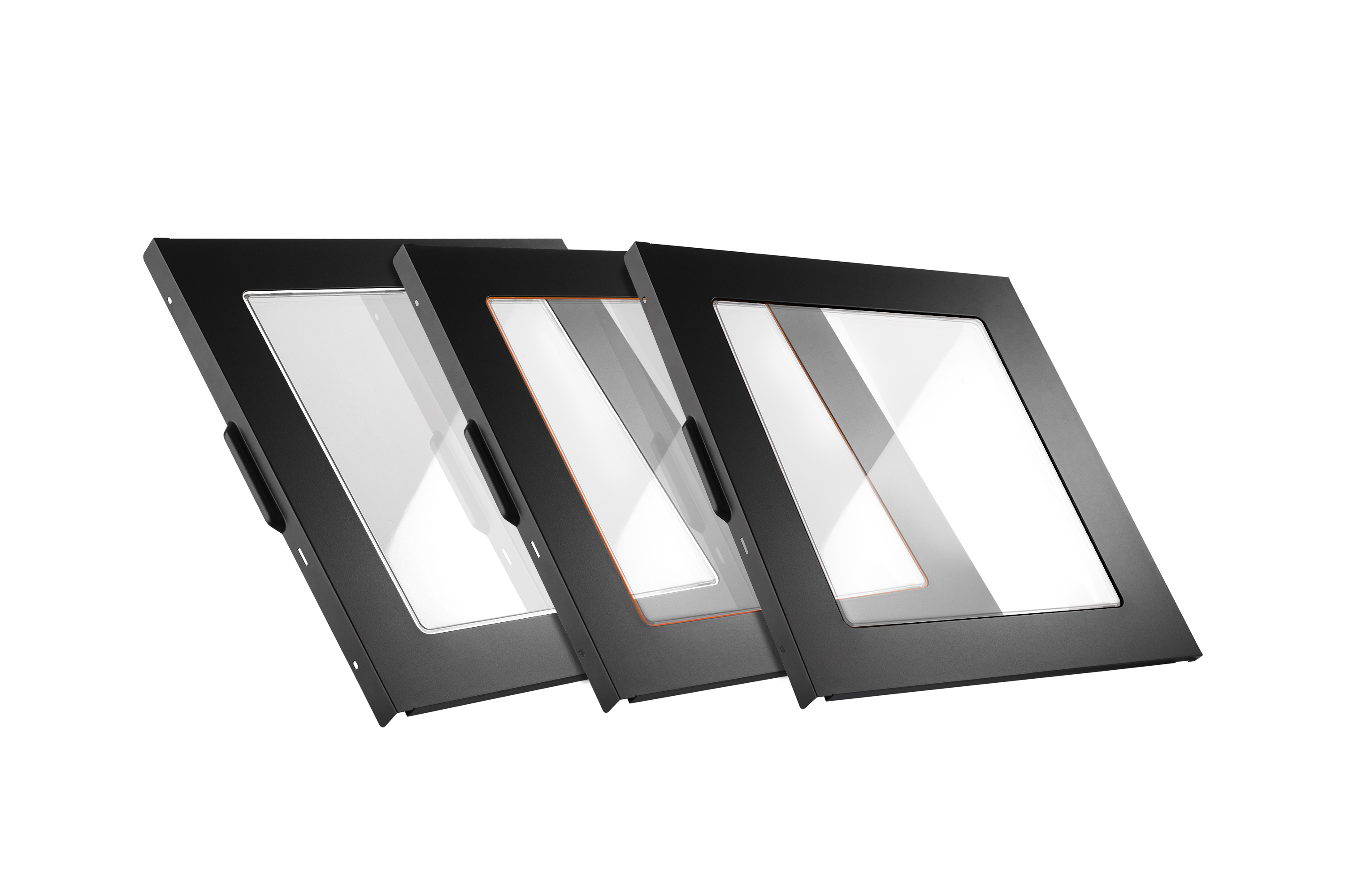 be quiet! Silent Base 600/800 Window Side Panel. 3 colour rubber included (orange, black and silver) //BGA01