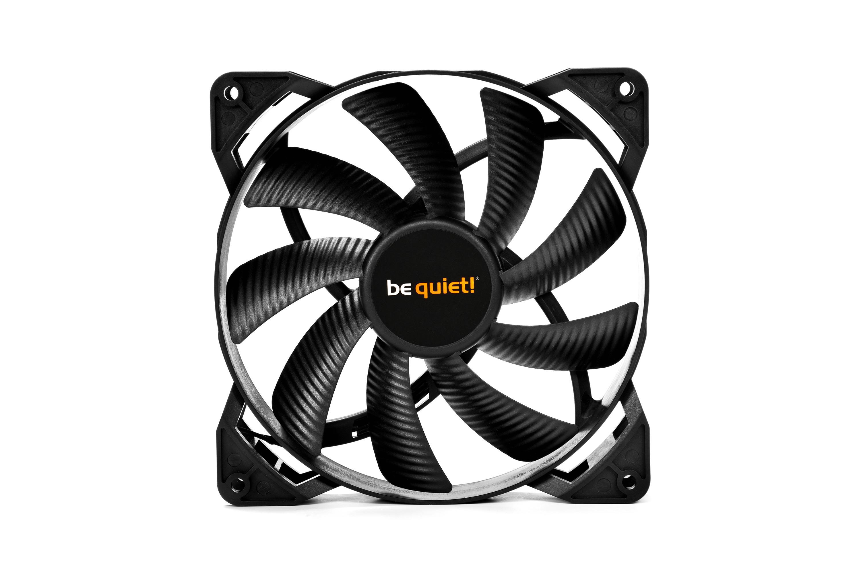be quiet! Pure Wings 2 140mm PWM, 140x140x25, 1000 rpm, 19,8 dB, 61,2 cfm, 4 pin
