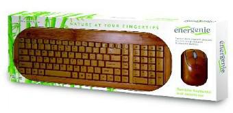 Gembird Bamboe desktopset