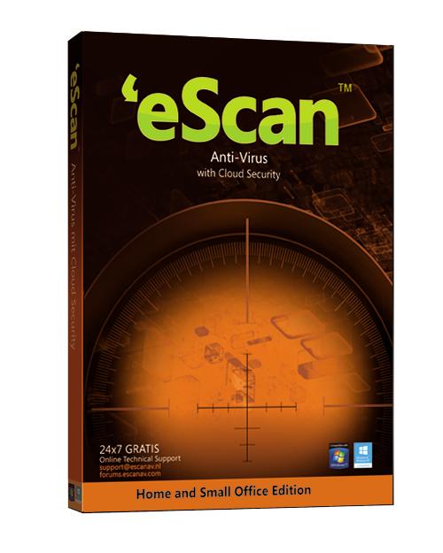 eScan SOHO Antivirus - 3 computers 2 jaar - renewal