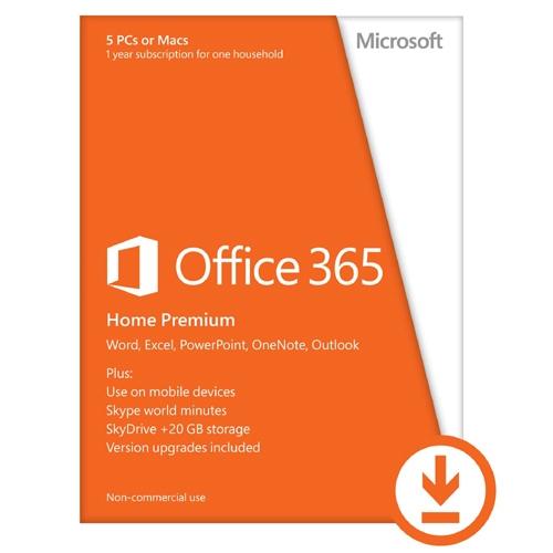 Microsoft 365 Family - 6 Gebruikers - 1 jaar ESD, PC/Mac