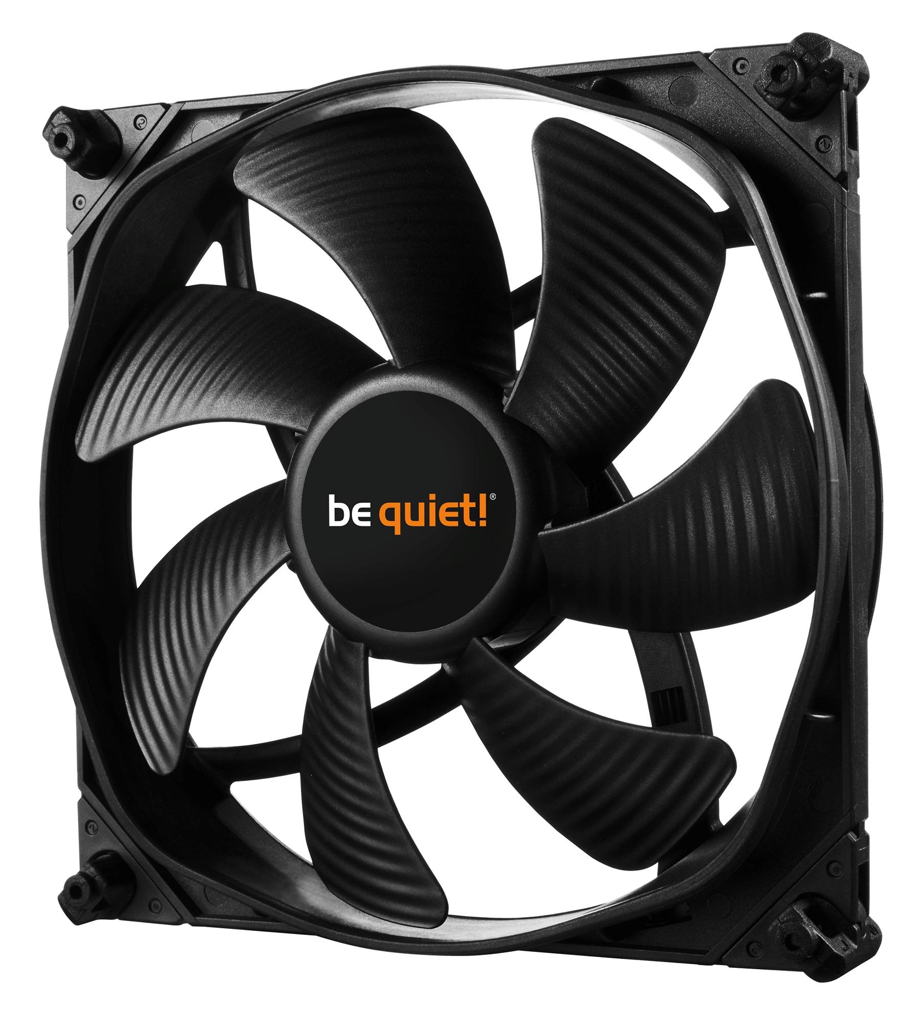 be quiet! SilentWings 3 140mm PWM high-speed, 140x140x25, 1600 rpm, 28,1 dB, 77,57 cfm, 4 pin