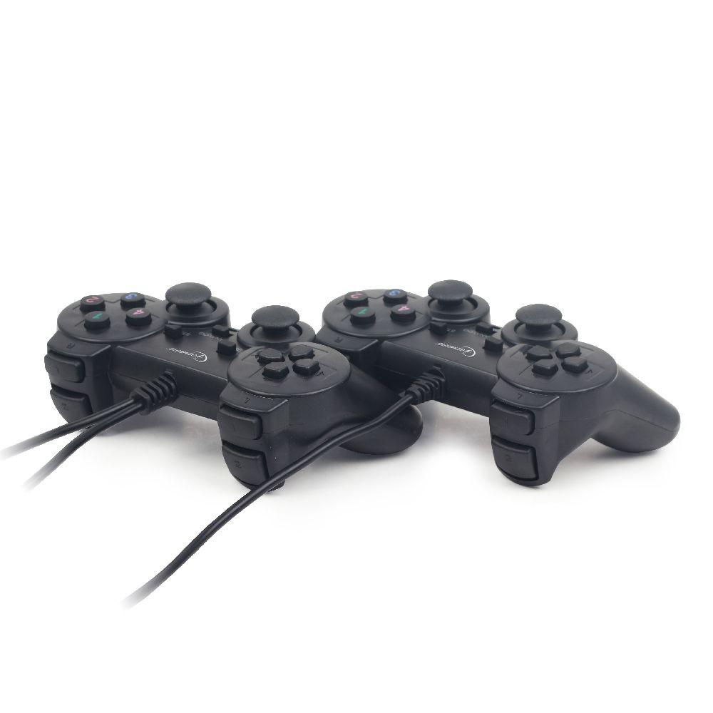 Gembird USB gamepad met vibratie - set van 2 stuks