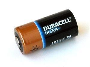 Duracell CR123A Foto batterij