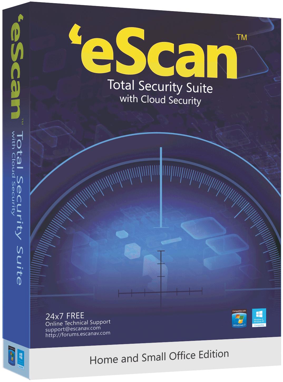 eScan SOHO Total Security Suite - 1 computer 1 jaar - base