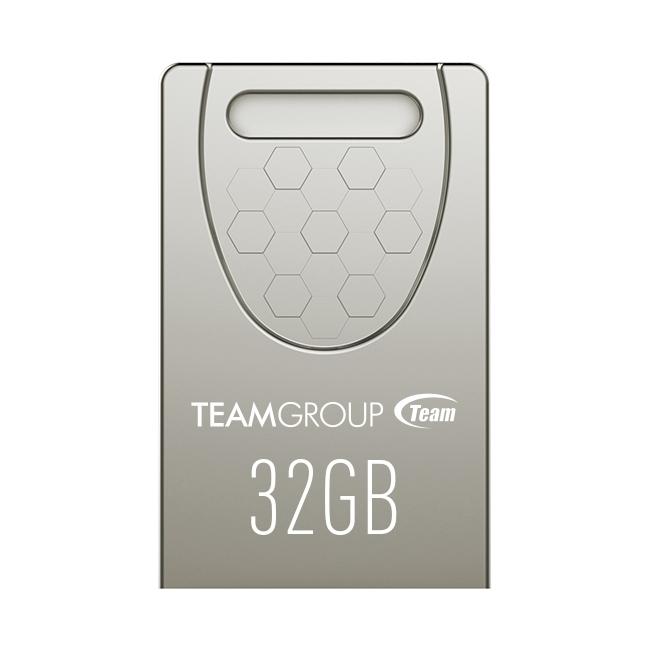 Team Group C156 DRIVE 32GB Silver, compact unibody design / COB