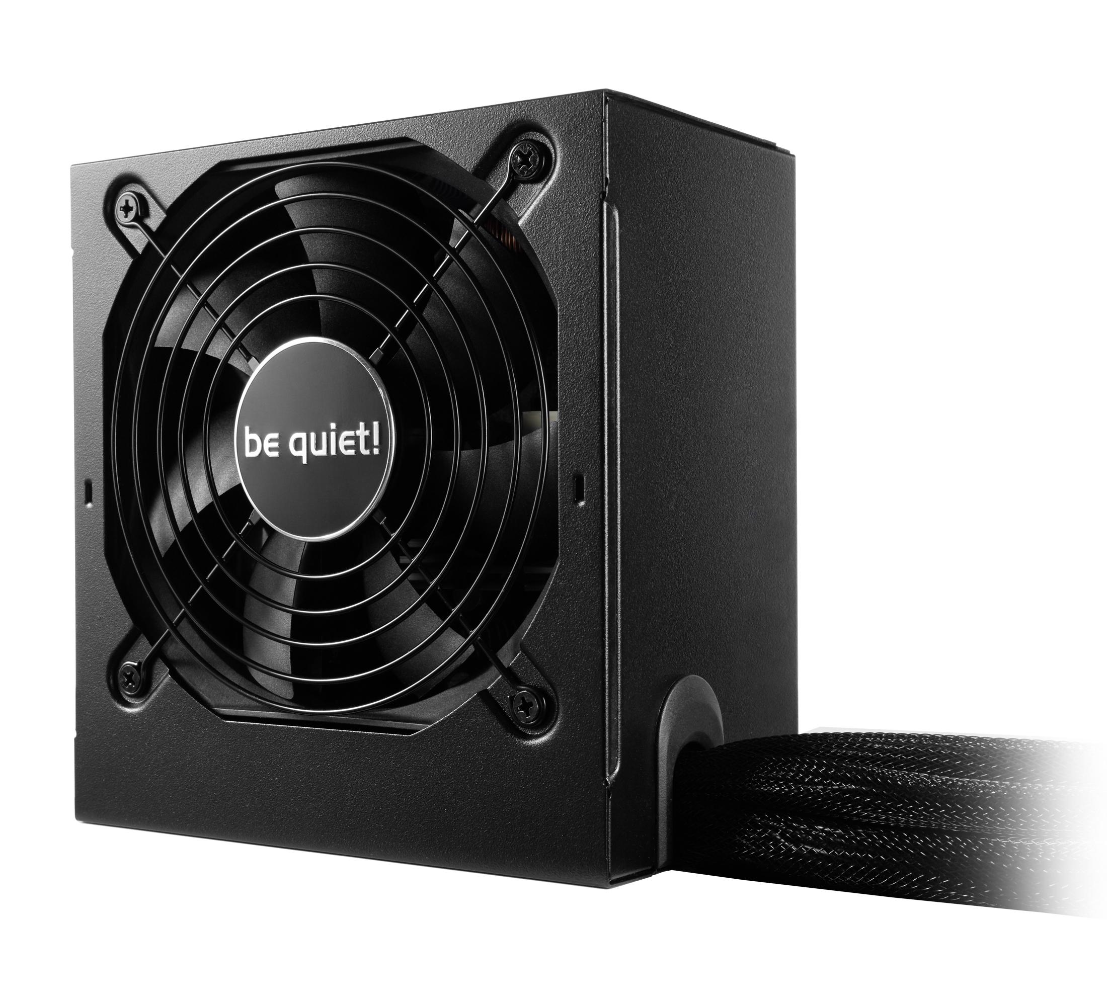 be quiet! System Power 9 500W, 80+ Bronze, ErP, Energy Star 6.1 APFC, Sleeved, 2xPCI-Ex, 6xSATA, 2xPATA, DC-DC // S9-500W