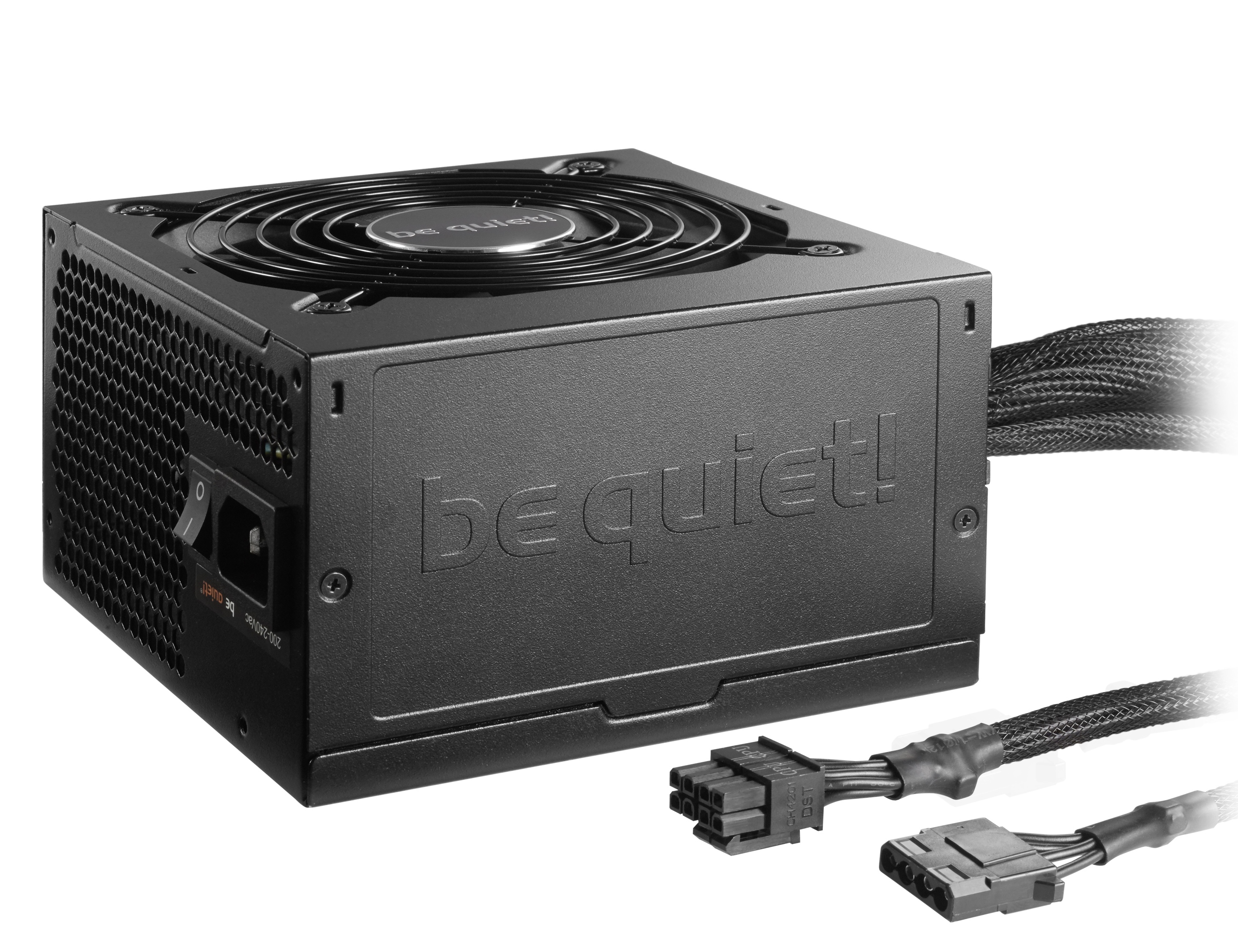 be quiet! System Power 9 400W, 80+ Bronze, ErP, Energy Star 6.1 APFC, Sleeved, 2xPCI-Ex, 5xSATA, 2xPATA, DC-DC // S9-400W