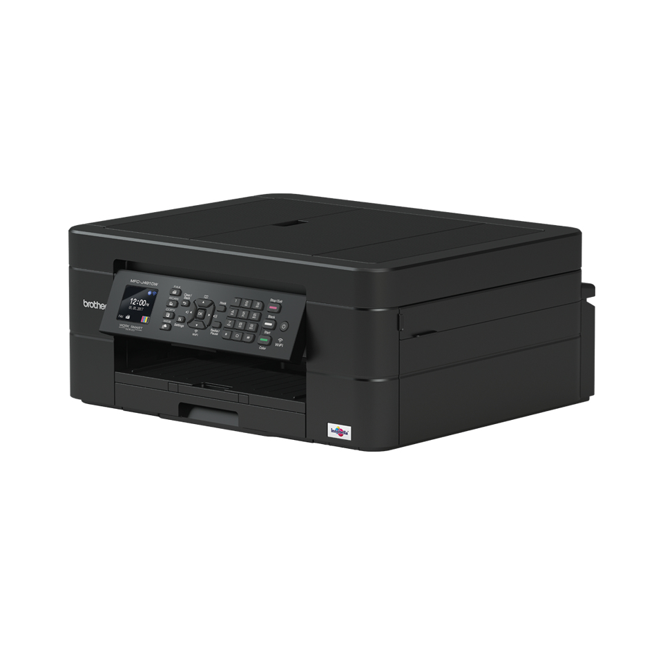 Brother MFC-J491DW AIO / WLAN / FAX / Zwart - 3213 cartridges