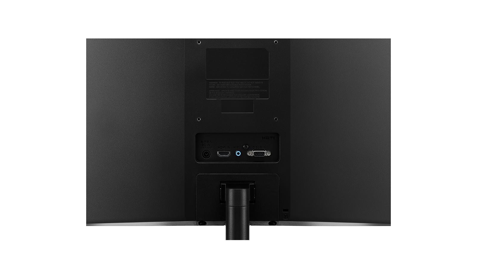 LG 27MK400H 27Inch monitor, full hd (1080p) TN, LED, HDMI, VGA, Vesa, 1000:1 - 2 ms, Black