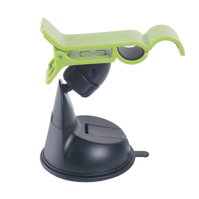 Omega universele smartphone houder voor in de auto - avocado black & green