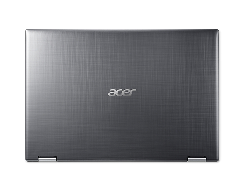 Acer Spin 3 SP314-51-575K - Steel Grey - 14 FHD Multi-Touch IPS - Intel� Core i5-8250U - 4GB DDR4 - 256GB SSD - Intel� UHD Graphics 620 - No ODD - Wi-Fi 5 AC (2x2) + BT 4.1 - 3-cell battery - HD webcam with 2 Microphones - Windows 10 Home - US Int. Key