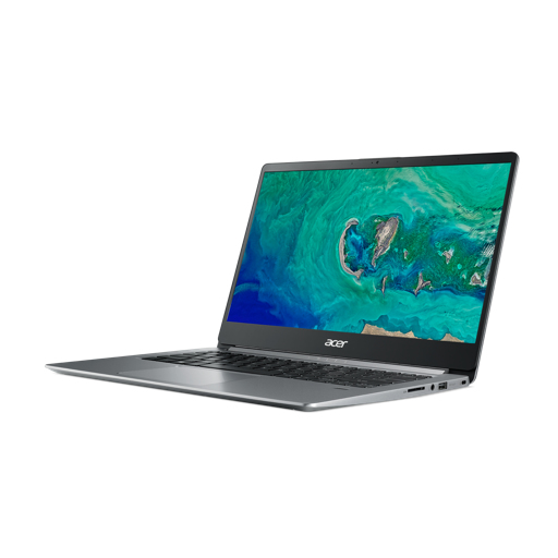 Acer Swift 1 SF114-32-P7FA - 14i FHD IPS - Intel Pentium N5000 - 4GB - 128GB SSD - Intel UHDGraphics 605 - Intel 9560 ac + BT 5 - Win10Home in S-Mode - Silver - QWERTY