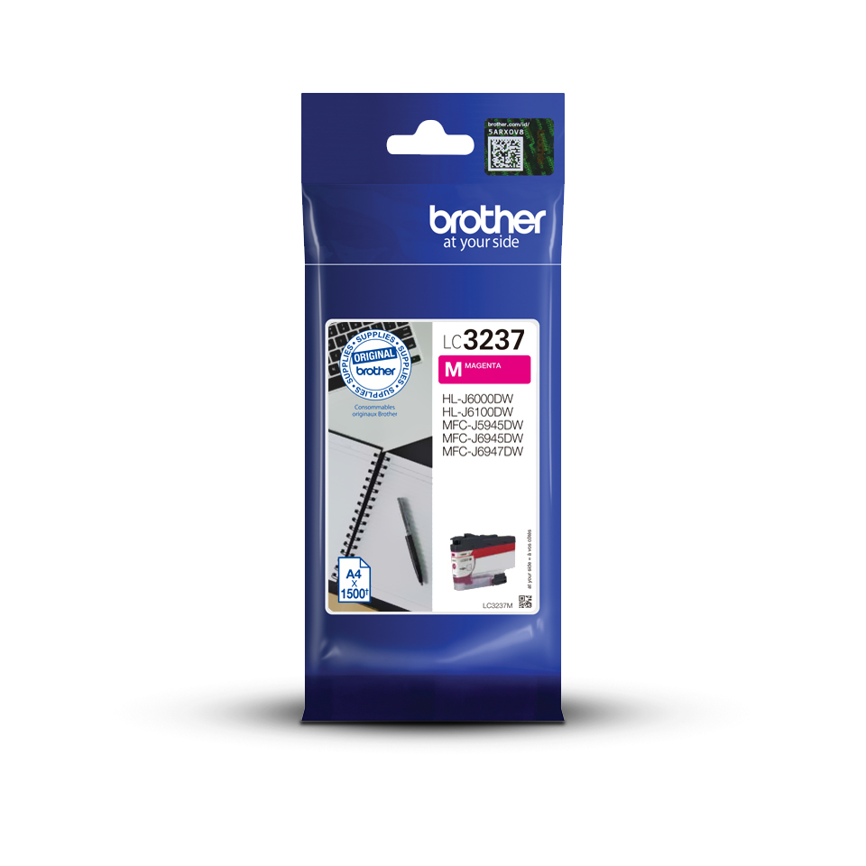 Brother LC3237M - Magenta - Origineel