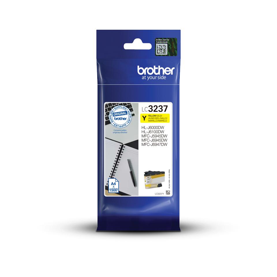 Brother LC3237Y - Geel - Origineel