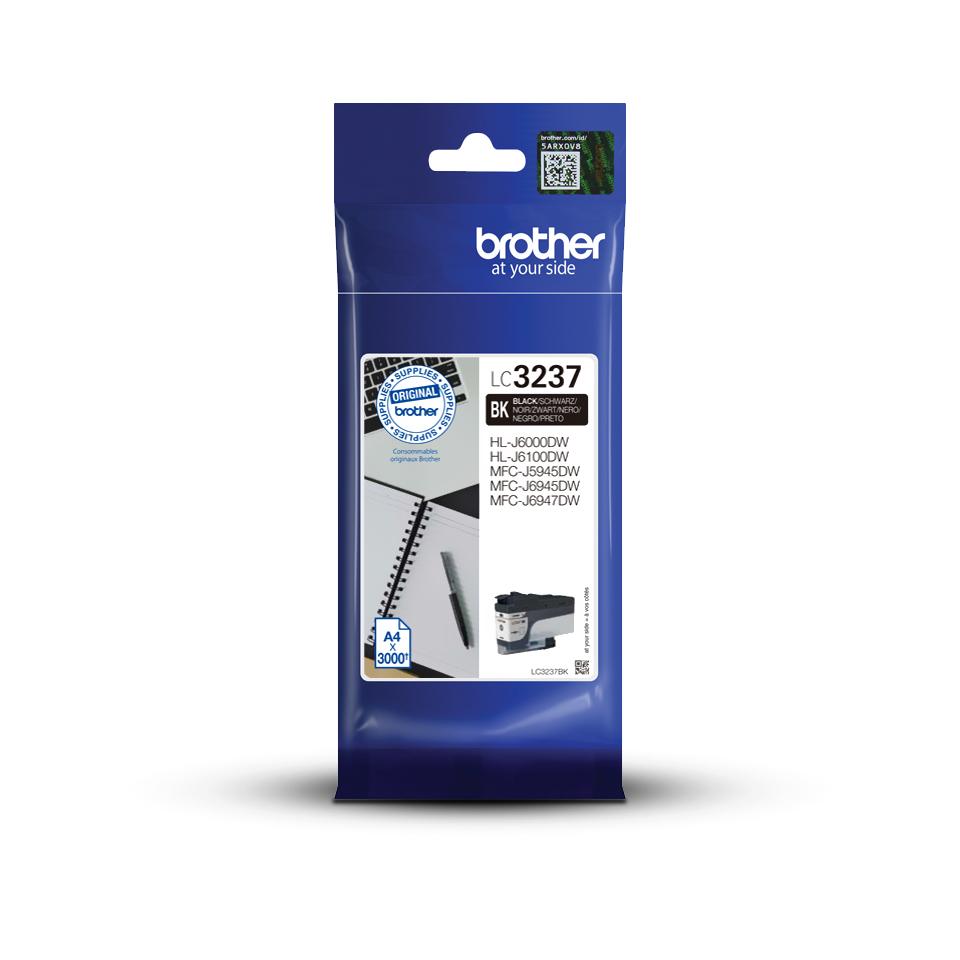 Brother LC3237BK - zwart - origineel