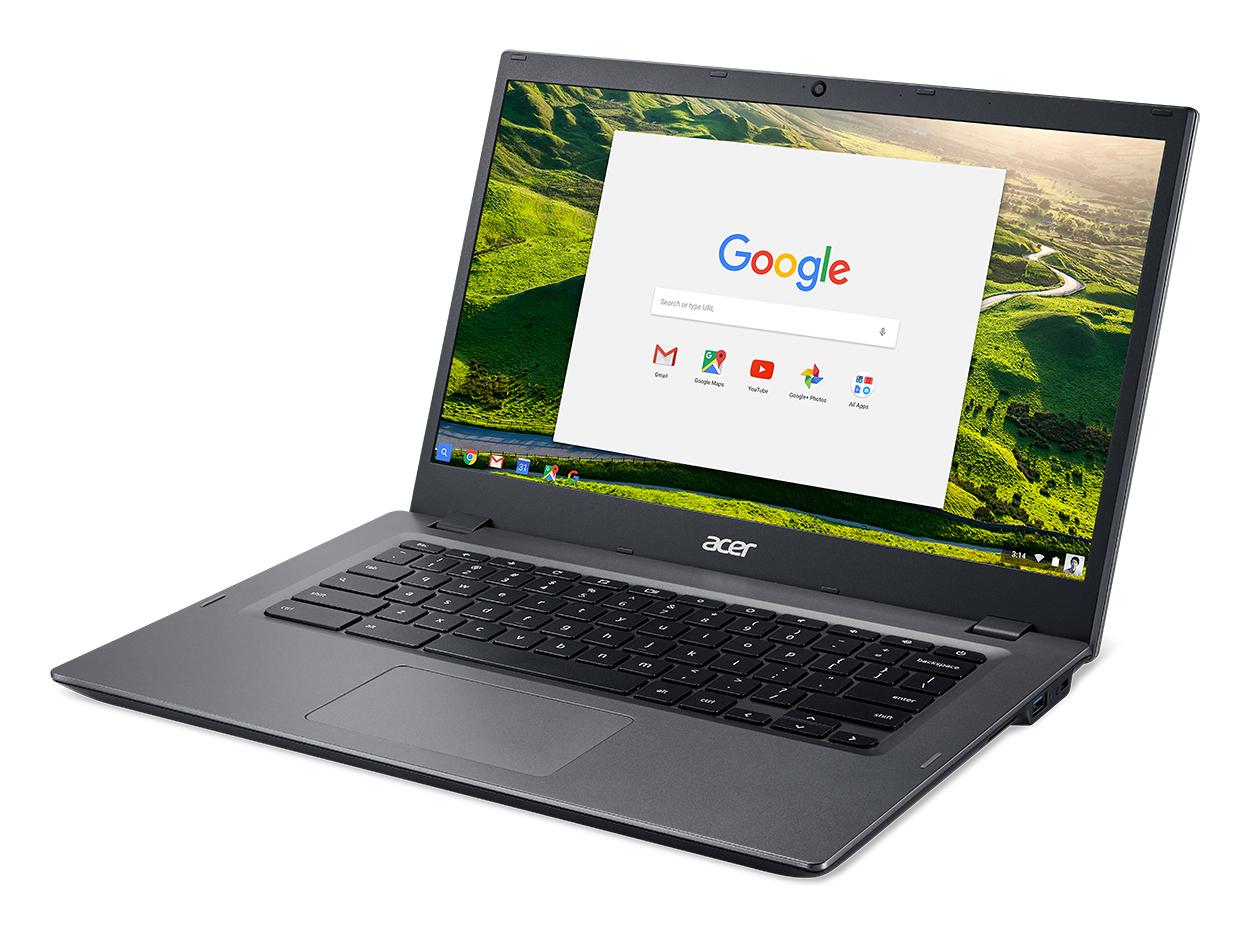 Acer Chromebook 14 for Work CP5-471-C2MU, Balck, 14 inch Full-HD IPS, Celeron 3855U, 4 GB RAM, 32 GB eMMC, Chrome OS ***
