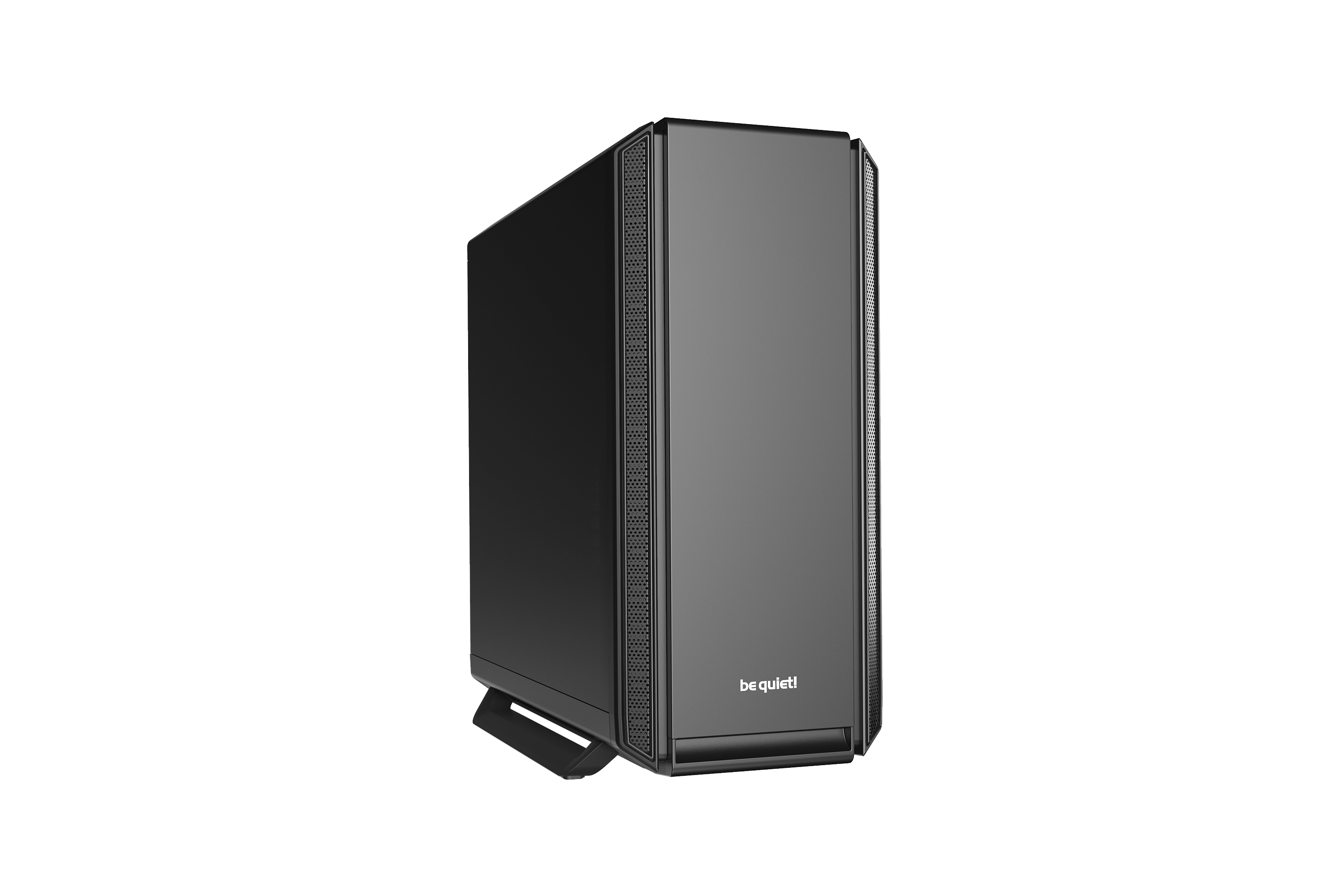 be quiet! Silent Base 801 Black, 539 x 281 x 553, IO-panel 2x USB 3.0, 1x USB 2.0, HD Audio, 5 (7) x 3,5, 11 (15) x 2,5, inc 2x Front / 1x Rear 140 mm Pure Wings 2, dual air channel cooling, 3-in-1 airintake sidepanel