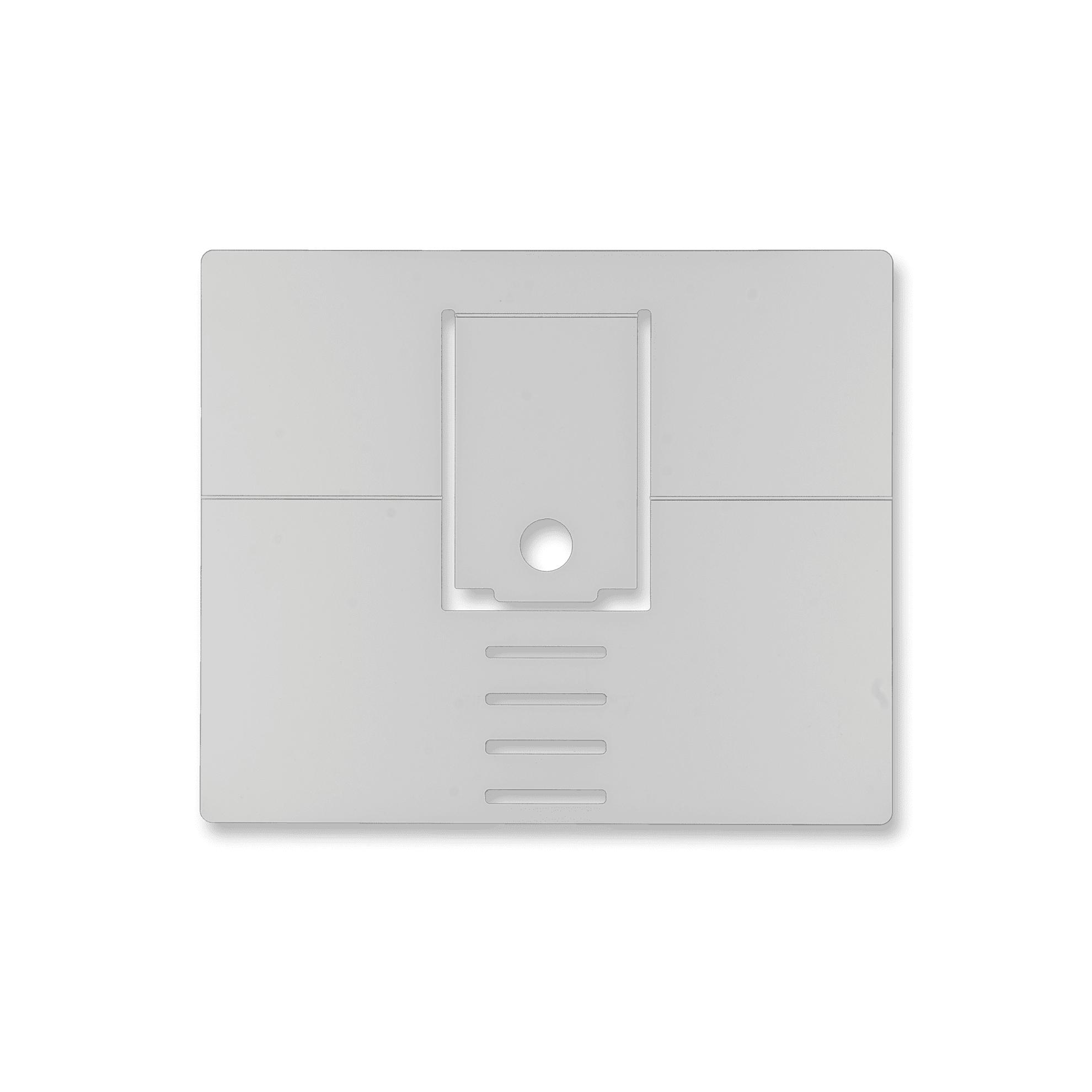 R-Go Riser Attachable Laptopstandaard, verstelbaar, zilver