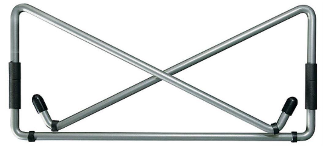 R-Go Steel Travel Laptopstandaard, zilver