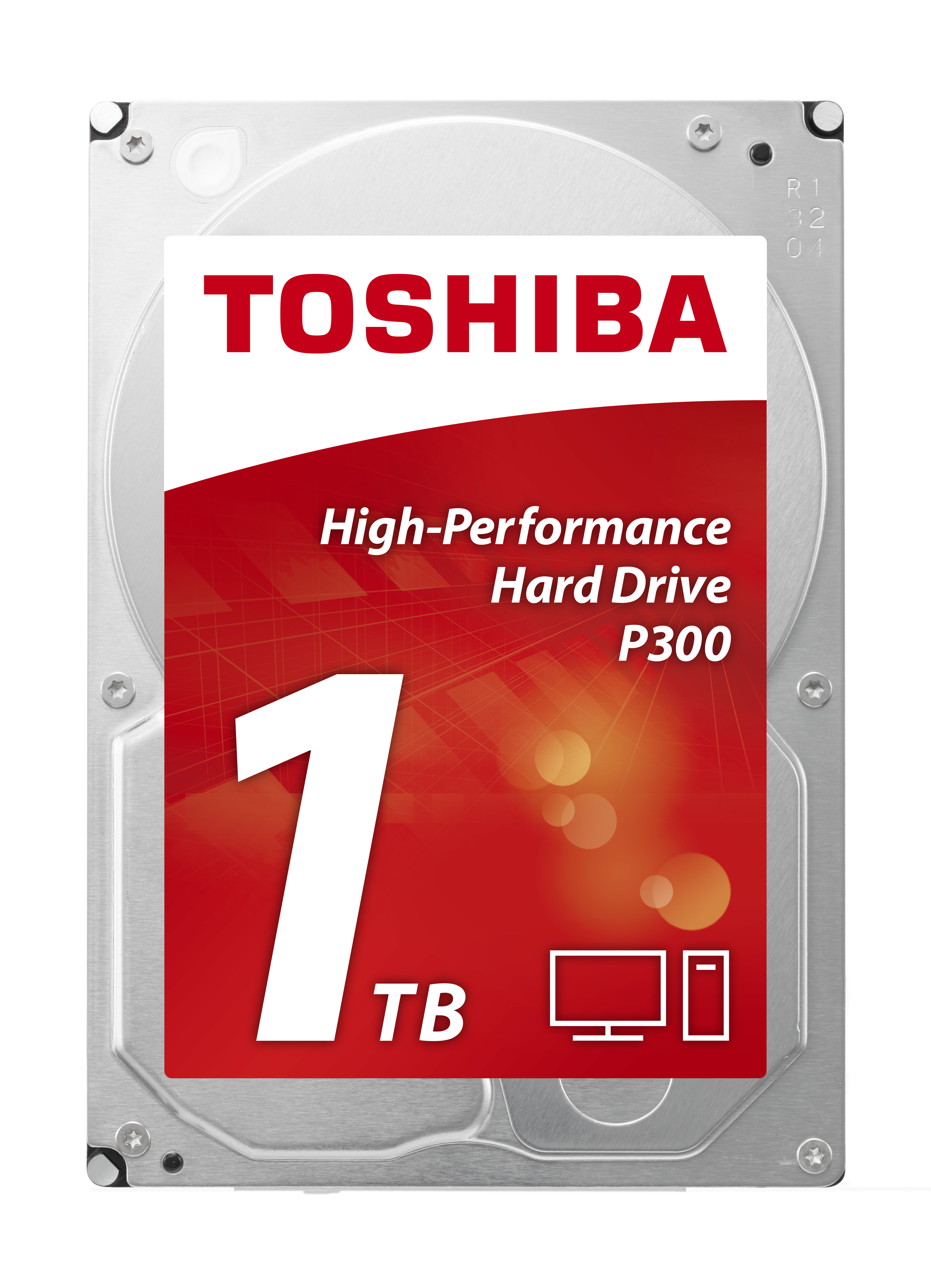 Toshiba P300 3.5 SATA6GBS HDD, 1 TB, 7200 rpm, 32 MB Cache