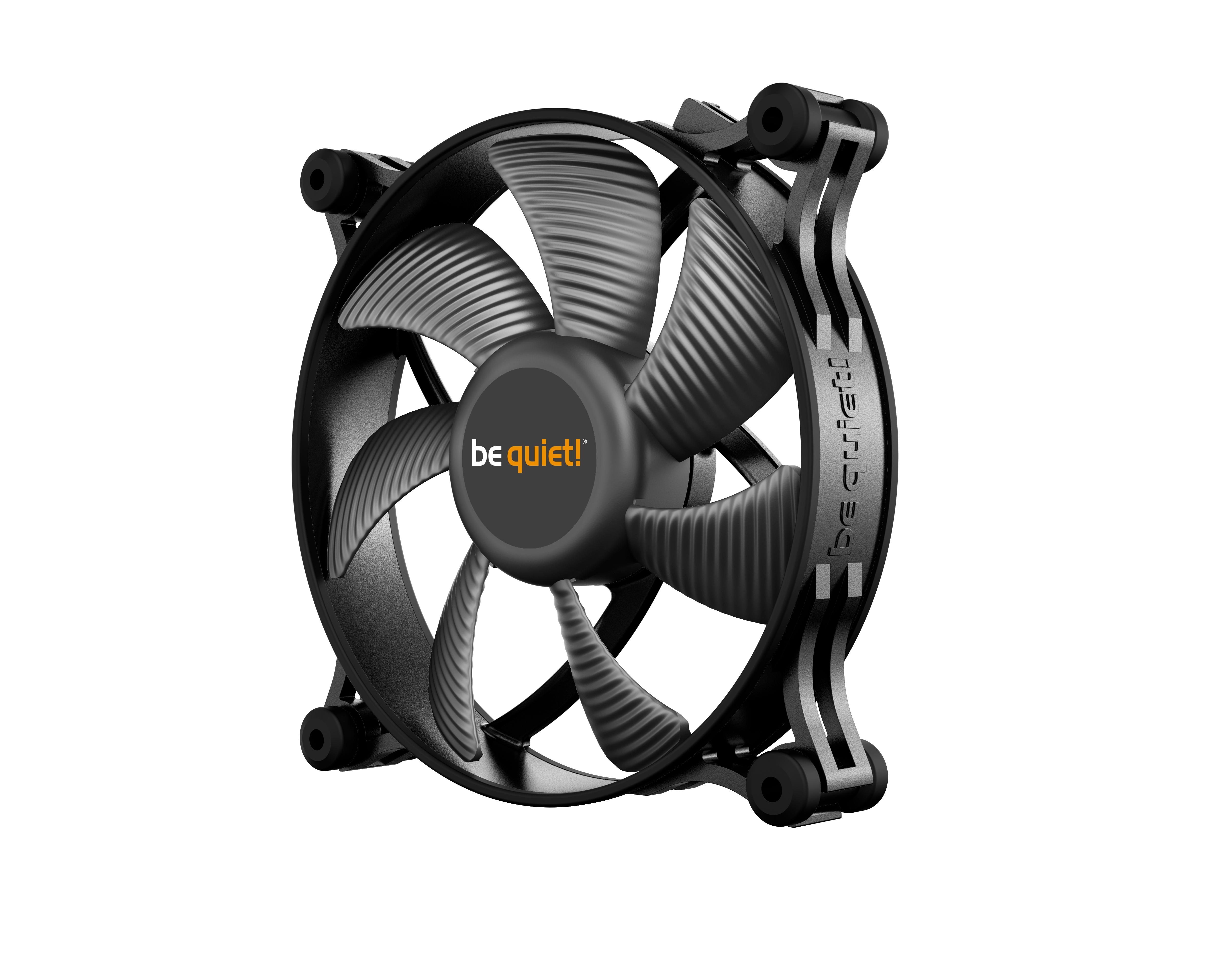 be quiet! Shadow Wings 2 120mm PWM, 120x120x25, 1100 rpm, 15,9 dB, 38,5 cfm, 4 pin