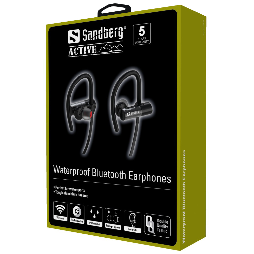 Sandberg Waterproof Bluetooth Earphones