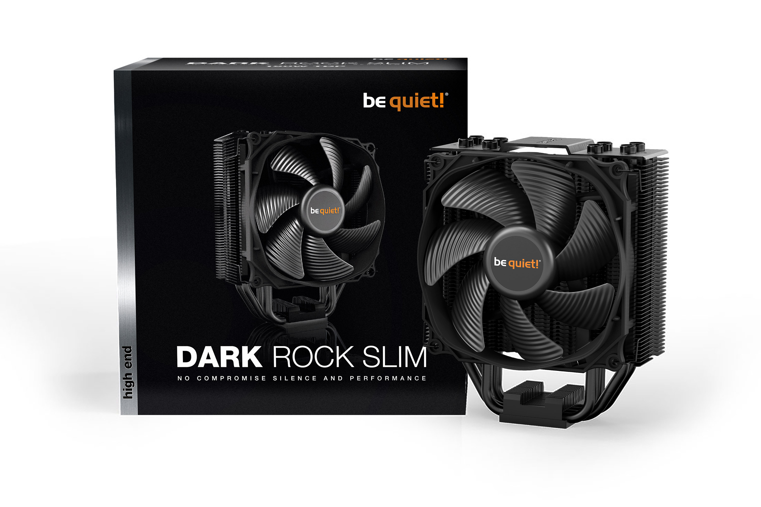 be quiet! Dark Rock Slim, 180W TDP, Intel LGA 1150 / 1151 / 1155 / 1156 / 1366 / 2011(-3) Square ILM / 2066 AMD: AM2(+) / AM3(+) / AM4 / FM1 / FM2(+)