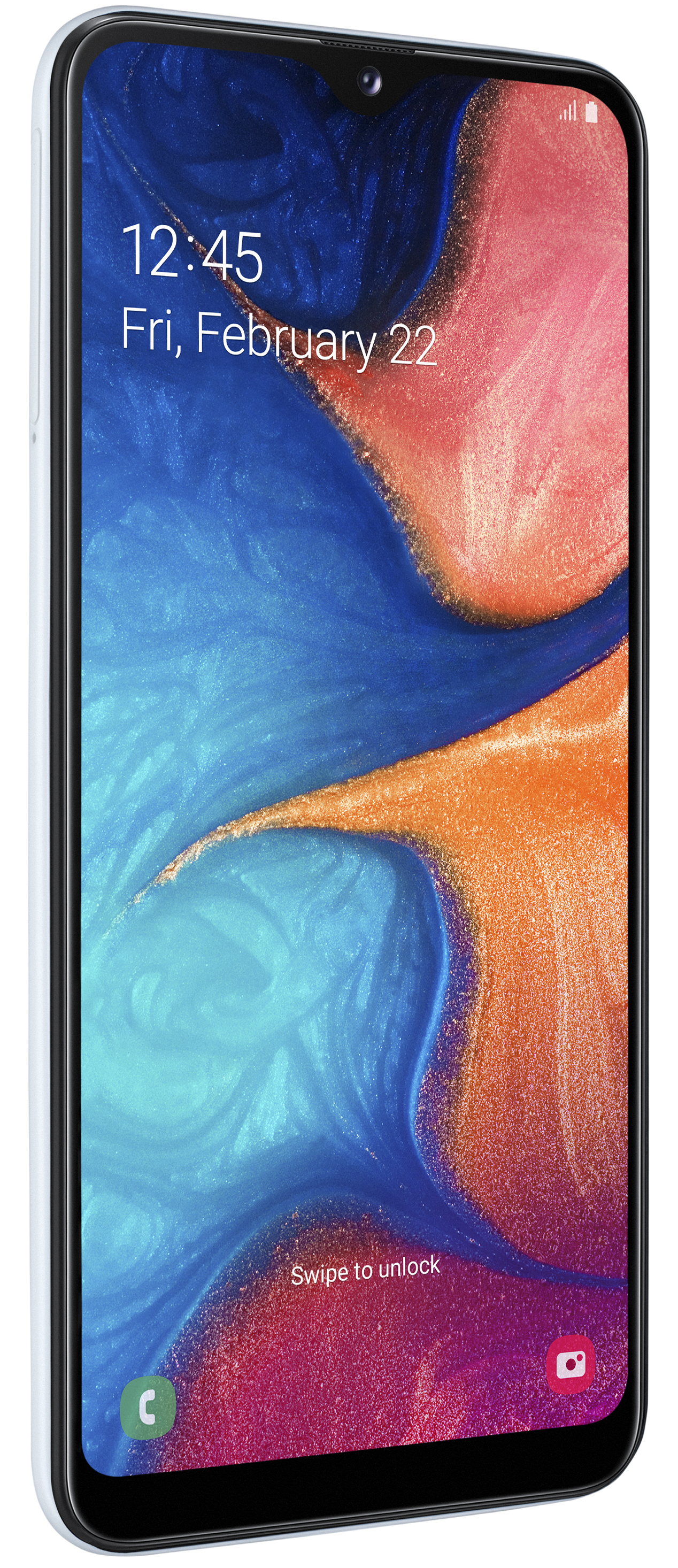 Samsung Galaxy A20e SM-A202F, 14,7 cm (5.8 ), 3 GB, 32 GB, 13 MP, Android 9.0, Wit