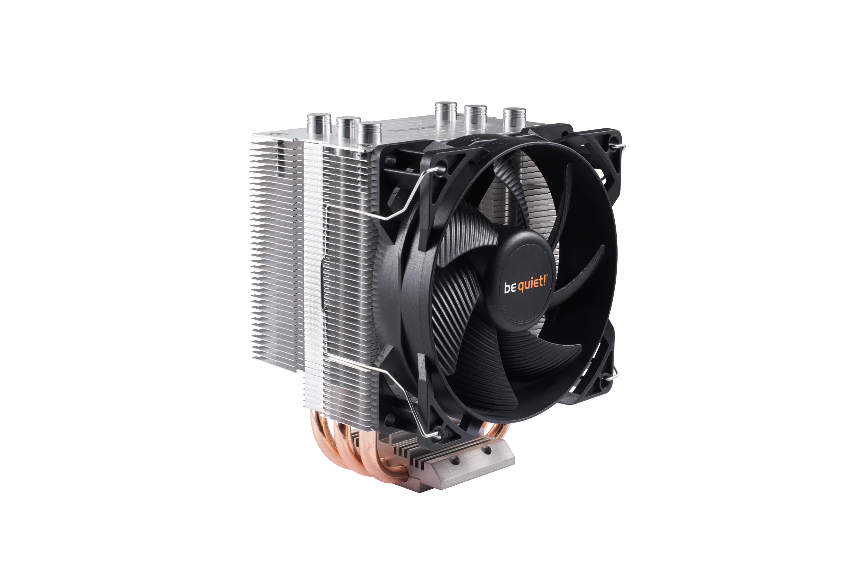 be quiet! Pure Rock Slim, 120W TDP, Intel: 1150 / 1151 / 1155 / 1156 / AMD: AM2 (+) / AM3 (+) / FM1 / FM2(+) - pushpin mounting - 92mm