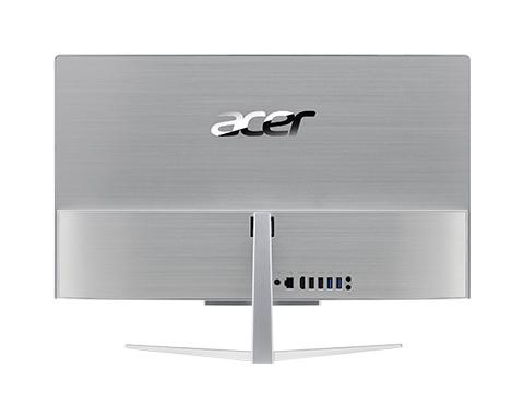 Acer Aspire C22-820 I2414 NL, 21.5i FHD, Pentium J5005, 4GB DDR4, 128GB SSD + 1TB HDD, UHD Graphics 605, Windows 10 Home - QWERTY KB + Mouse