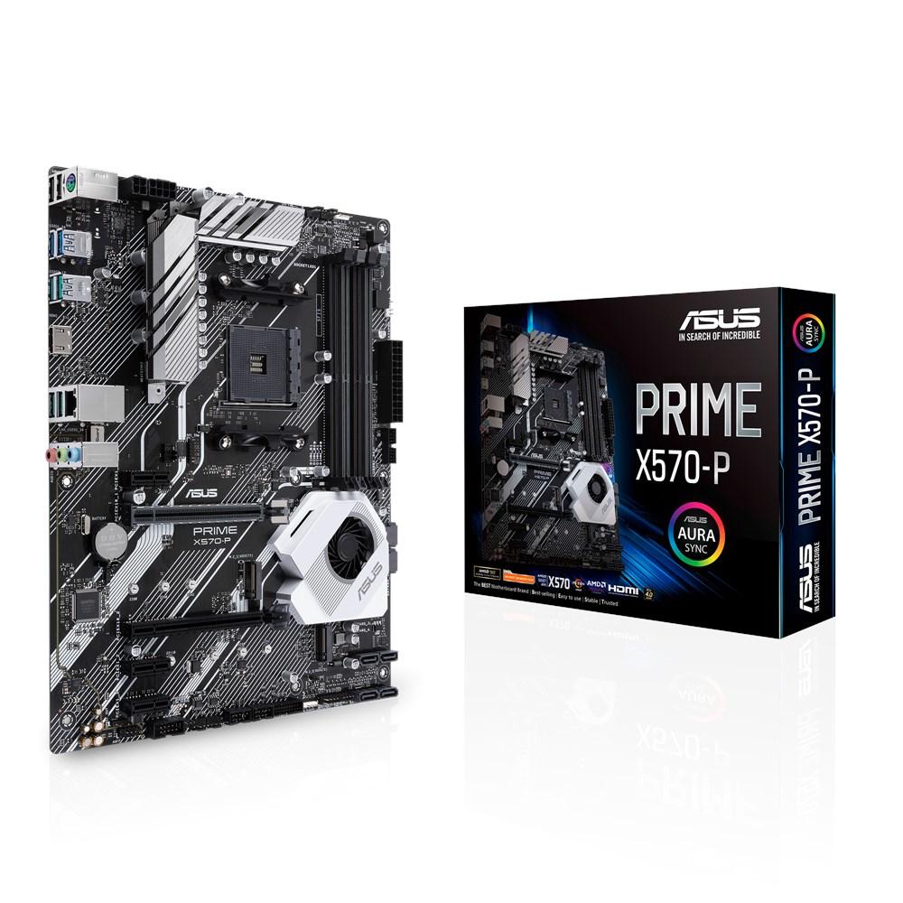 Asus PRIME X570-P ATXmainboard - ATX - Socket AM4