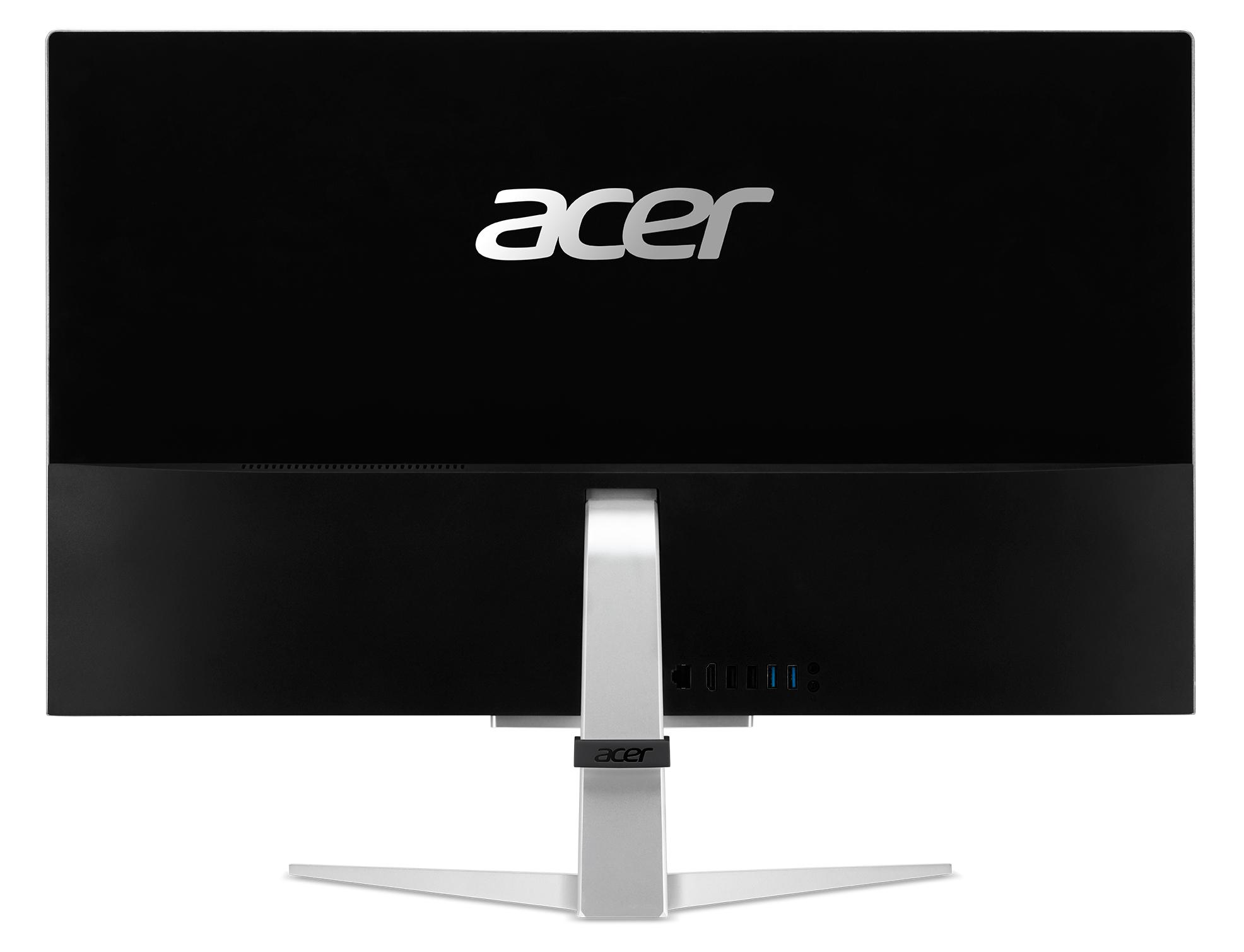 Acer C27-962 I5622 NL, 27i FHD, Intel Corei5-1035G1, 16GB DDR4, 1TB PCIe NVMe SSD, NVIDIA GeForce MX130, Intel Wi-Fi 5 AC 9462 + BT 5, Win10Home, QWERTY