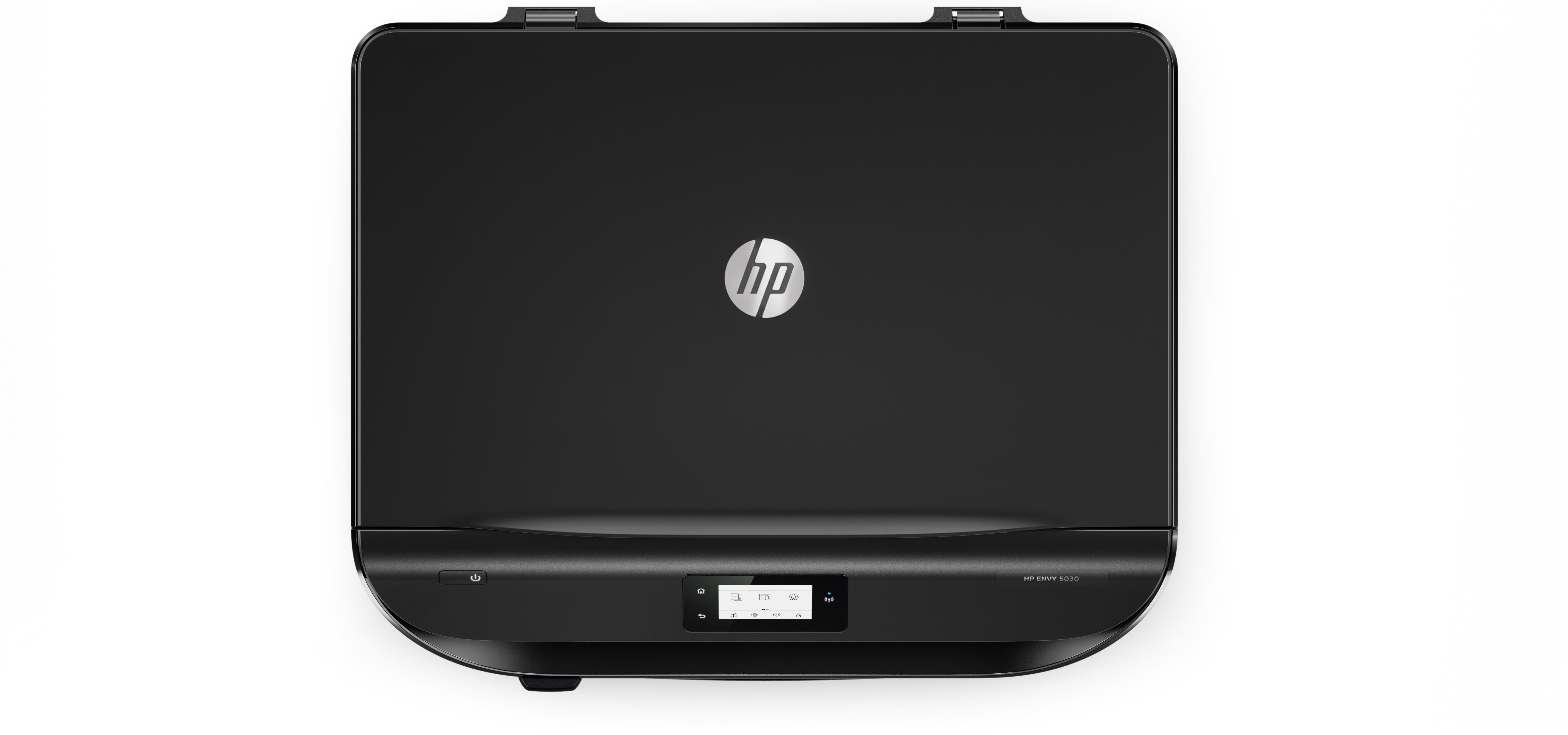 HP Envy 5030 all-in-one printer, kleur, inktjet, A4, A5, B5, max 20 ppm (printend), 100 vel, USB2, WiFi, WiFi-direct, Airprint, HP 304 / 304XL