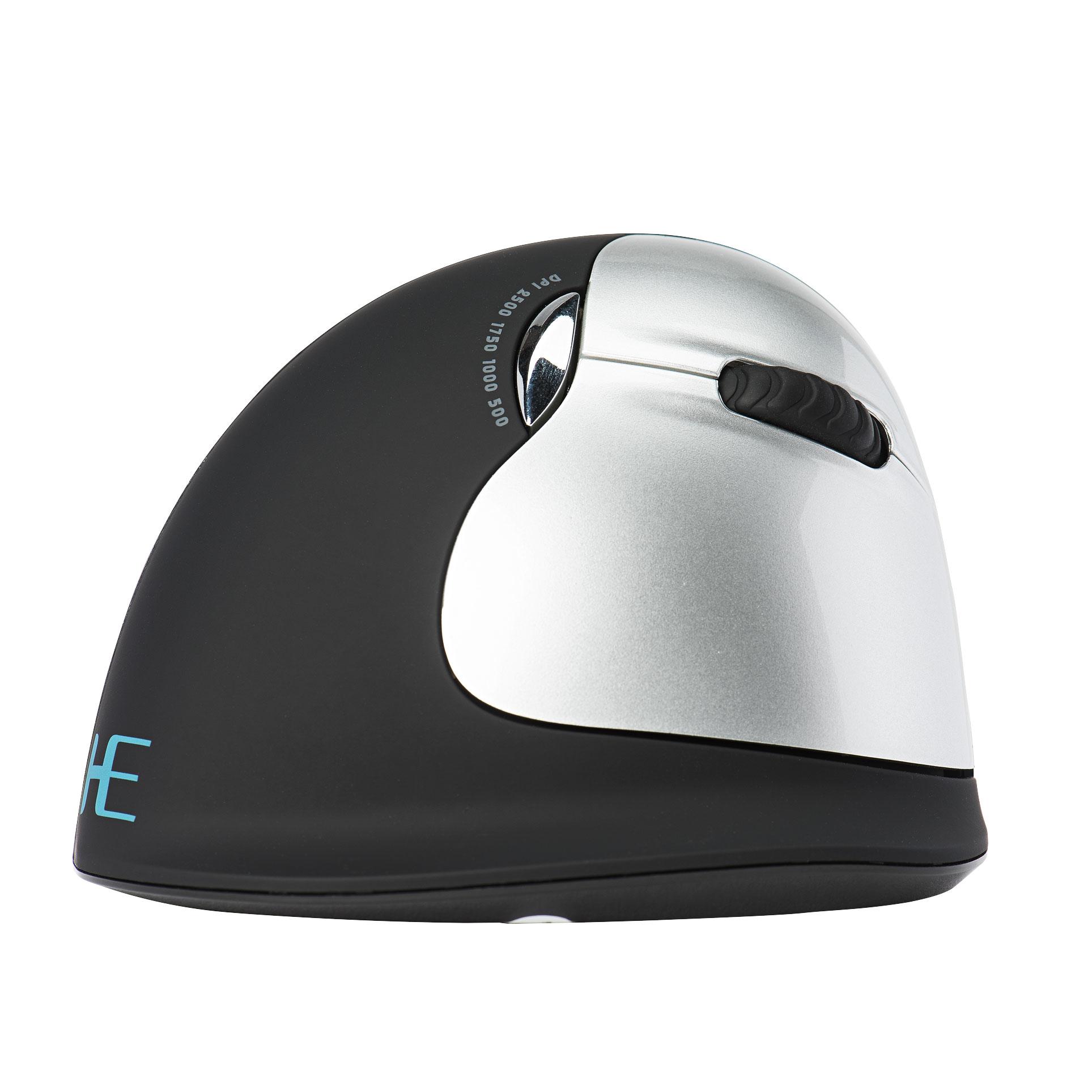R-Go HE Mouse Ergonomische muis, Groot (> 185mm), Rechtshandig, Draadloos