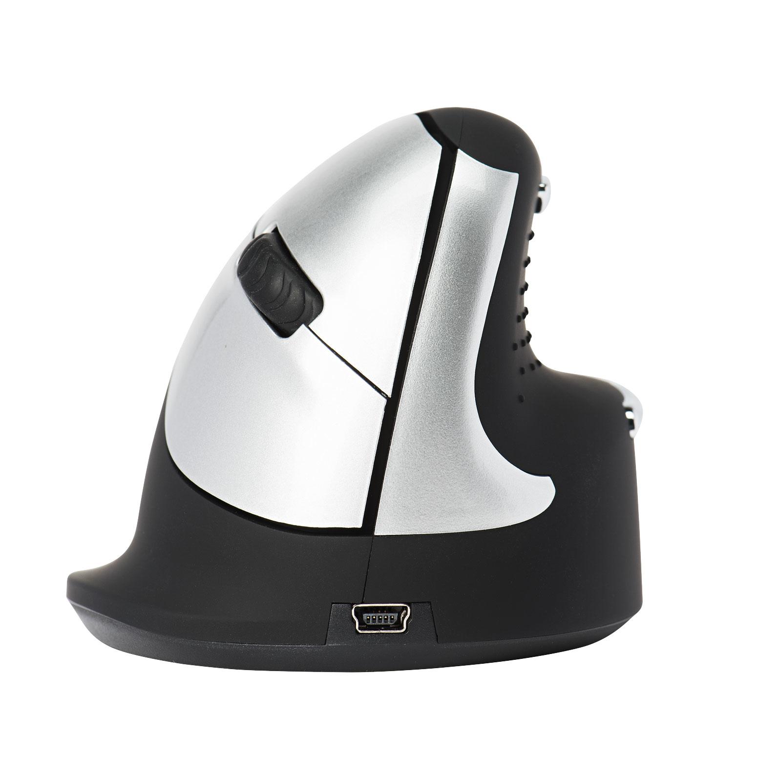 R-Go HE Mouse, Ergonomische muis, Medium (165-195mm), Rechtshandig, Draadloos