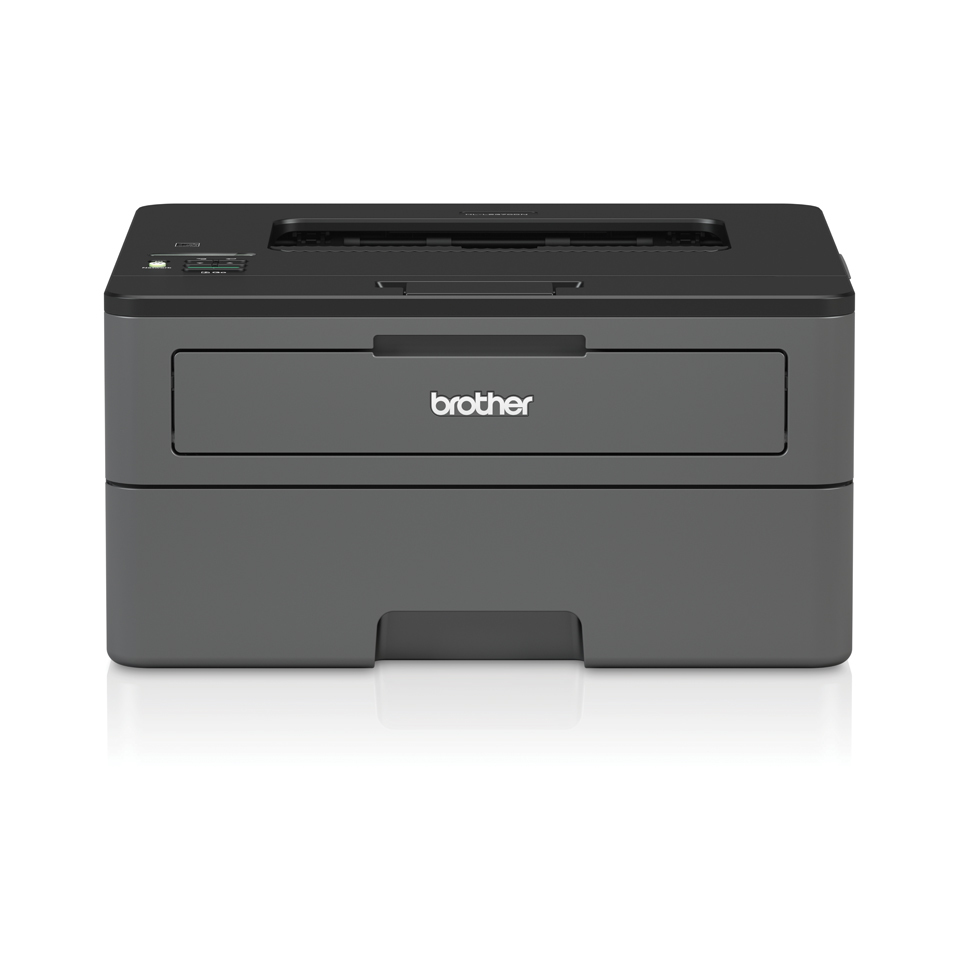 Brother HL-L2370DN Zwart-wit A4 laserprinter 34ppm 1200 dpi 64MB automatisch duplexprint 250 vel papierlade, USB 2.0, Hi-Speed LAN, incl. startertoner 700 pagina s