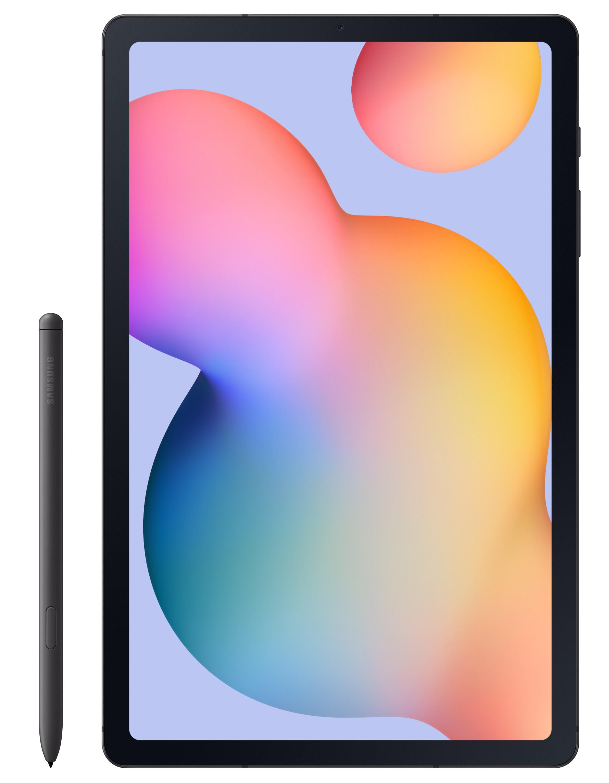 Samsung Galaxy Tab S6 Lite, Tablet met Android 10, 64 GB, 10.4 TFT (2000 x 1200), microSD sleuf - Oxford-grijs