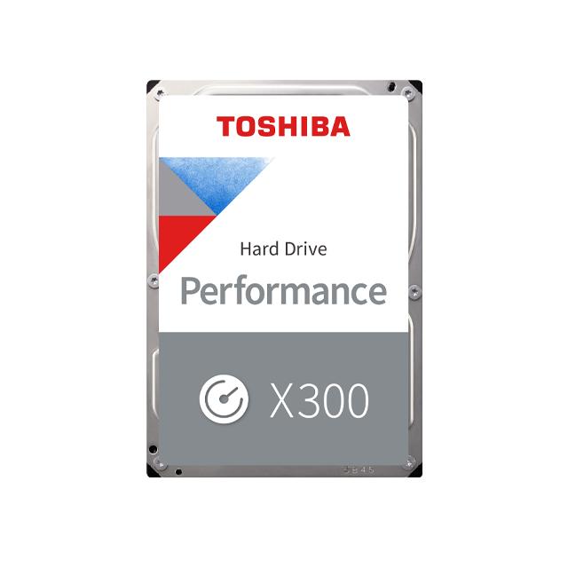 Toshiba 8.9cm (3.5 ) 8TB SATA3 Perf. X300 Silver 7200 128