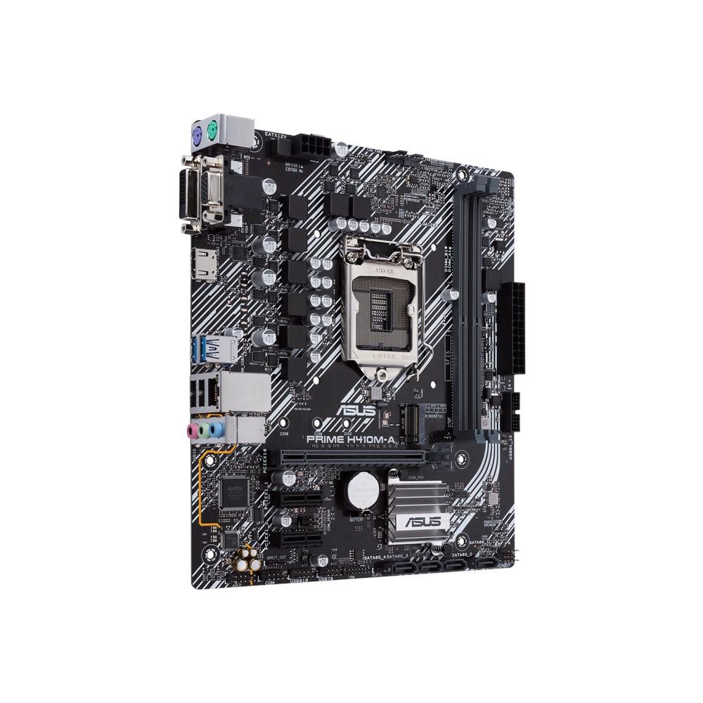 Asus PRIME H410M-A Mainboard - S1200, Intel H410, M.2/HDMI/DVI/VGA/�ATX