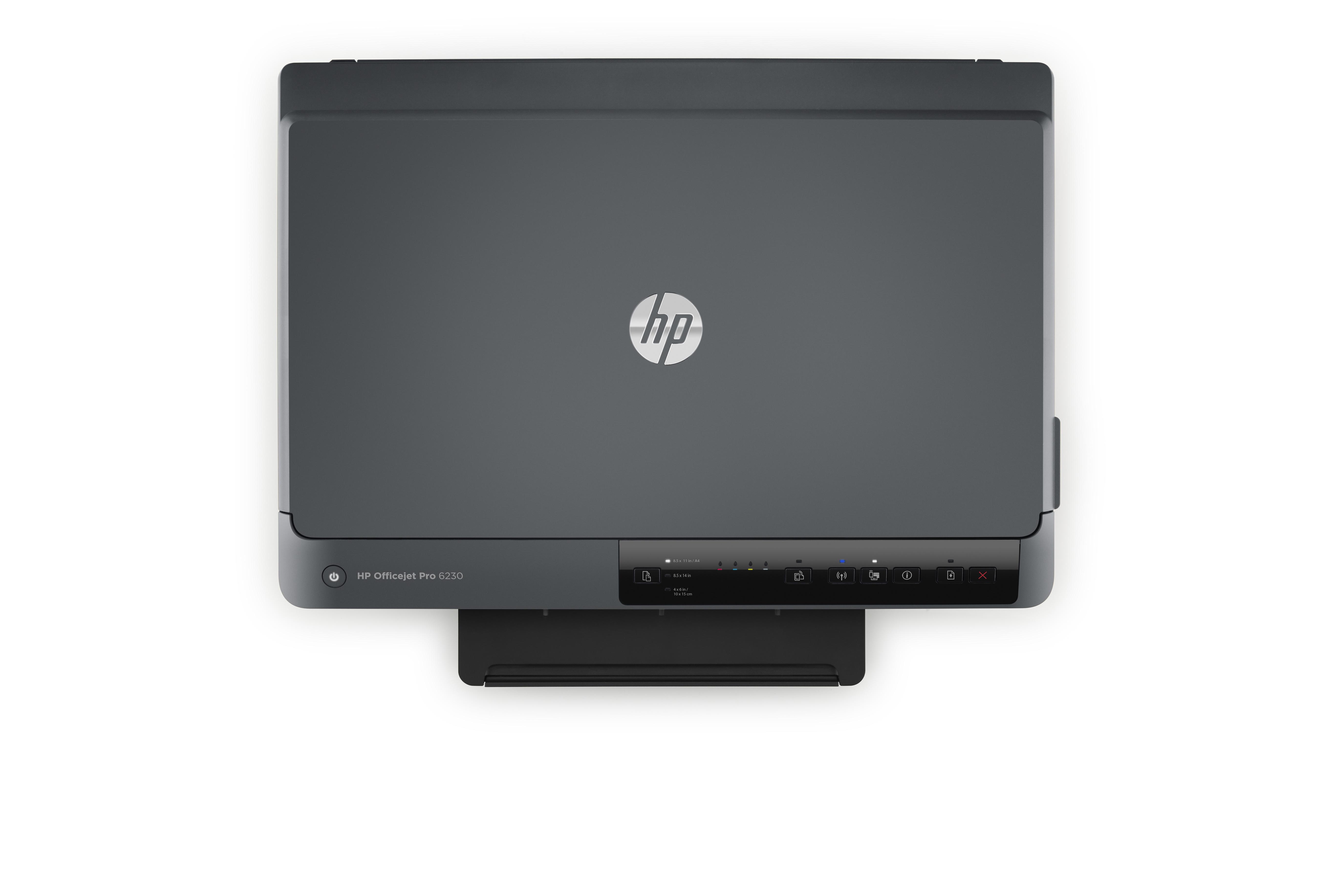 HP OfficeJet Pro 6230 inkjetprinter Kleur 600 x 1200 DPI A4 Wi-Fi, 18 ppm, dubbelzijdig, tot 29 ppm (mono), tot 24 ppm (kleur) - 935/934(xl)