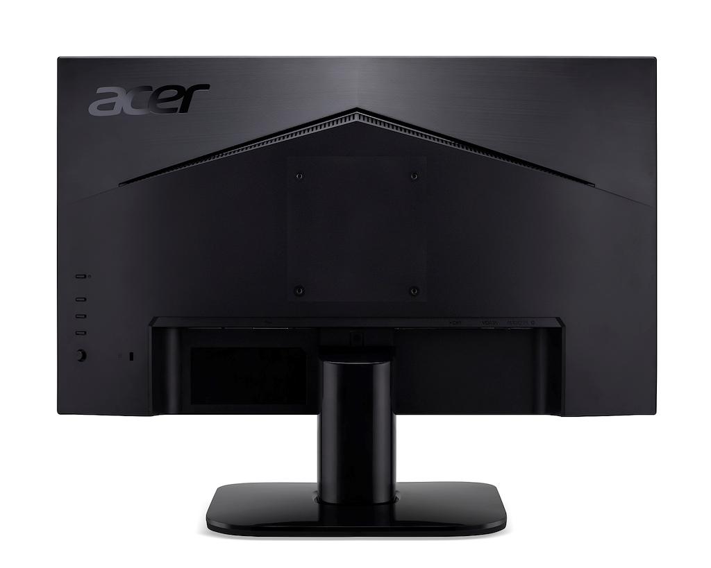 Acer KA242Ybi, 23.8i W. ZeroFrame, FreeSync 1ms(VRB), 250nits, IPS LED, 1xVGA 1xHDMI, MPRII Black Acer EcoDisplay