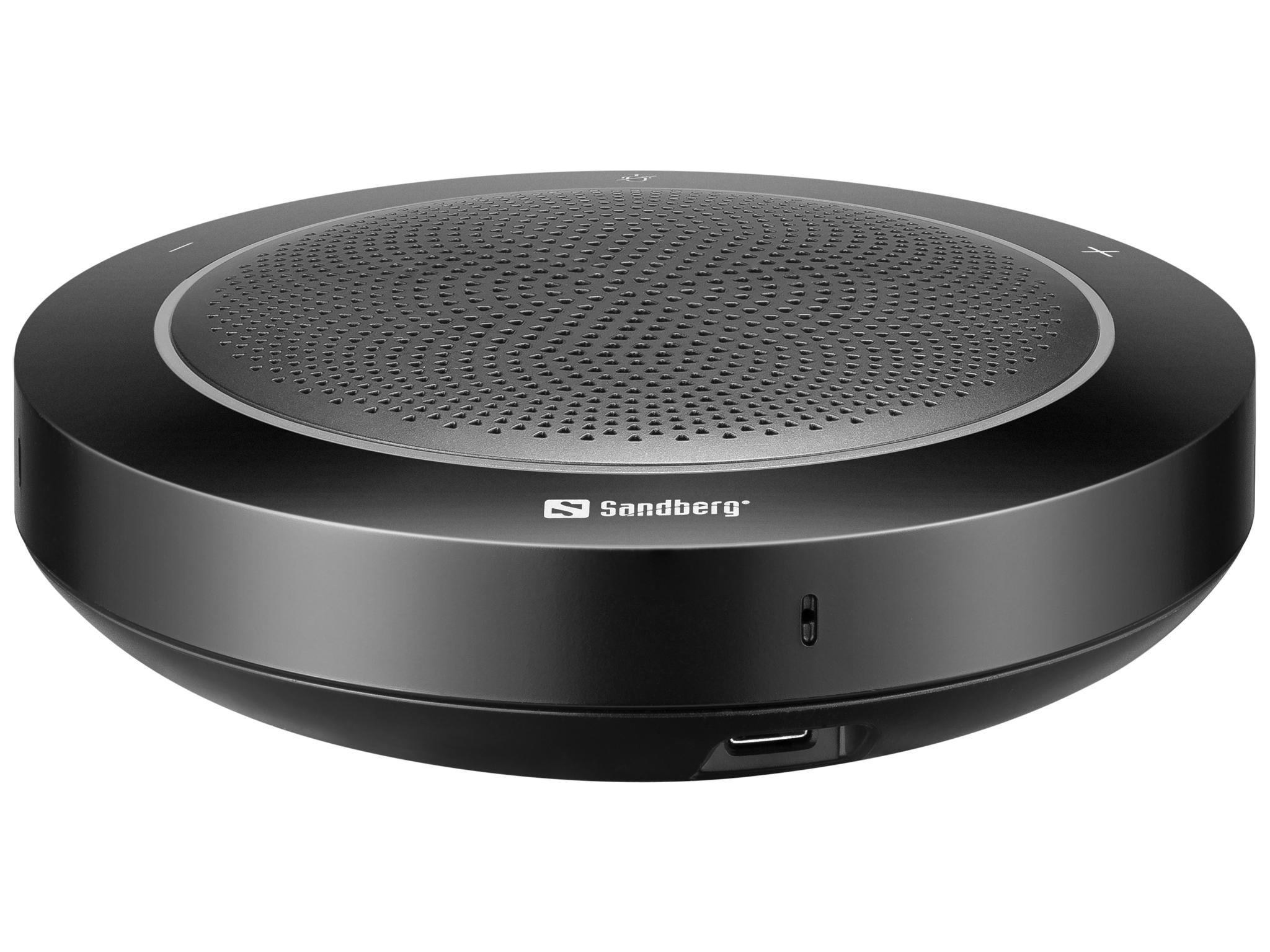 Sandberg USB Speakerphone Pro, microfoon en speaker in 1, echo vrij