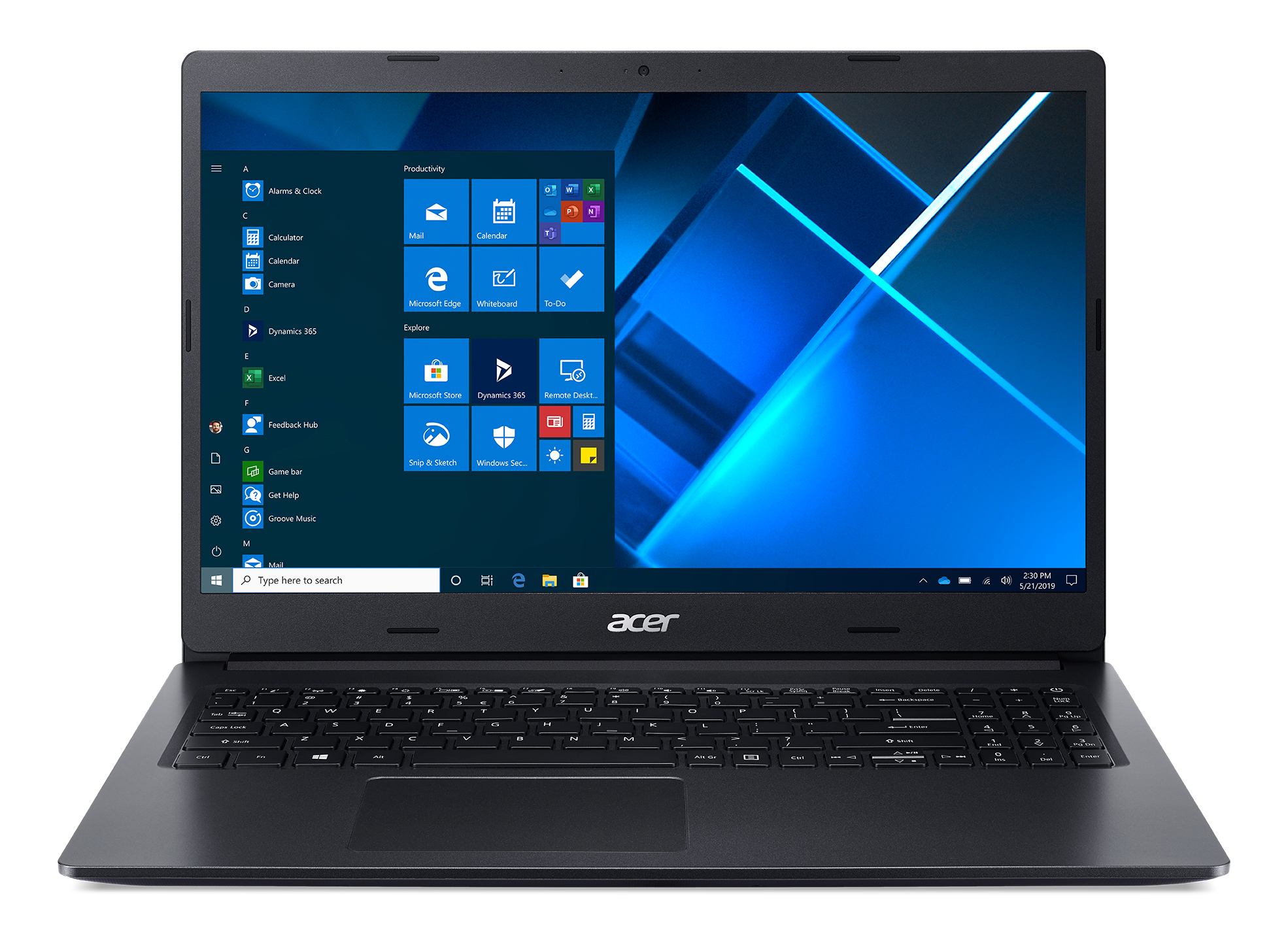 AcerExtensa 15 EX215-22-R40S, Charcoal Black, 15.6 inch FHD LED, AMD Ryzen 3 3250U, 8GB DDR4, 256GB PCIe NVMe SSD, Vega 3 Graphics, No ODD, Wi-Fi 5 AC + BT 4.0, 48 Wh battery, HD webcam with 2 Microphones, Windows 10 Home in S-Mode , US Intl keyboard