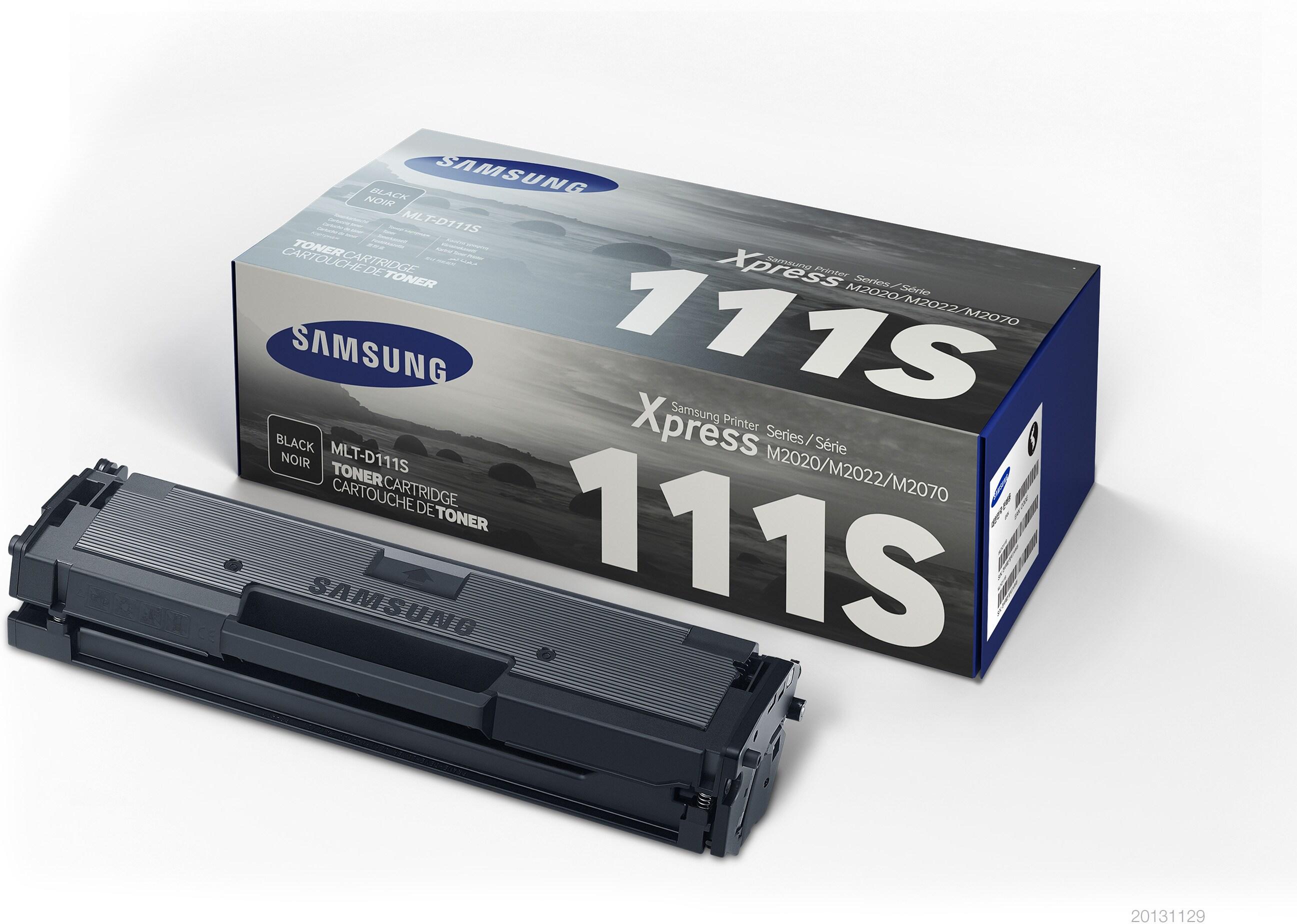 SAMSUNG Toner Cartridge MLT-D111S/ELS Black