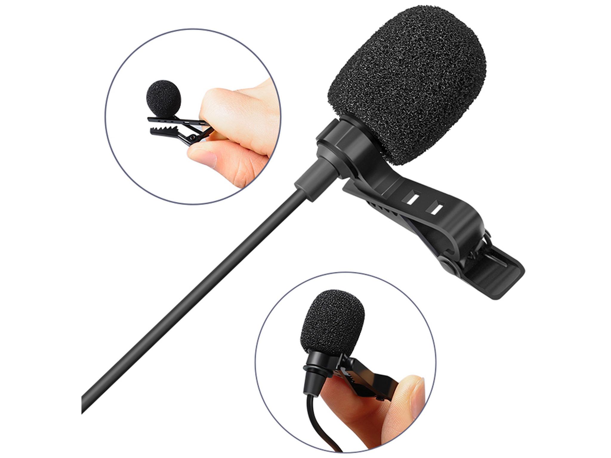 Sandberg Streamer USB Clip on Microphone, lavalier