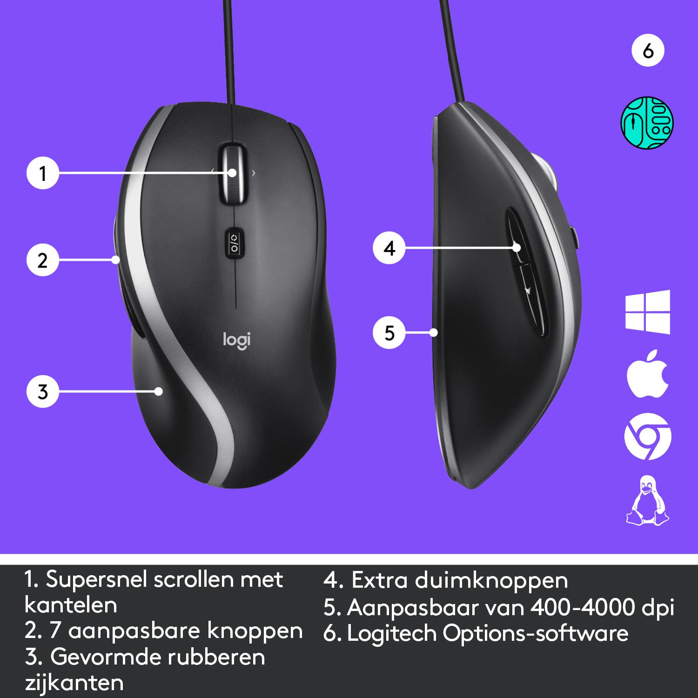 Logitech M500s Corded Mouse Laser