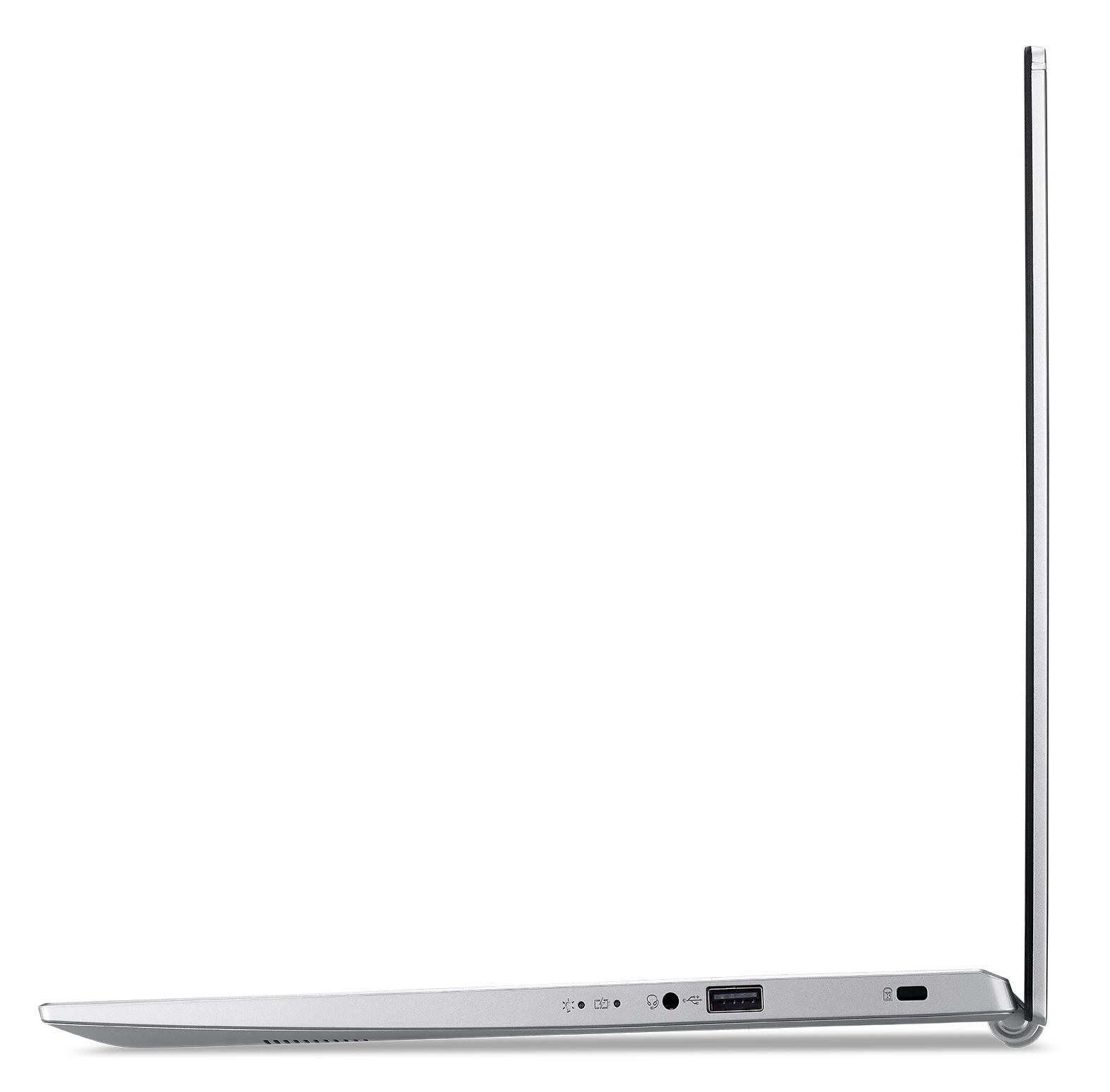 Acer Aspire 5 Pro A517-52-57FS, 17.3inch FHD, i5-1135G7, 16GB, 512GB SSD, Intel Iris Xe Graphics, No ODD, Wi-Fi 6 AX 201 (2x2) + BT 5, Win10 Pro, Qwerty, Silver