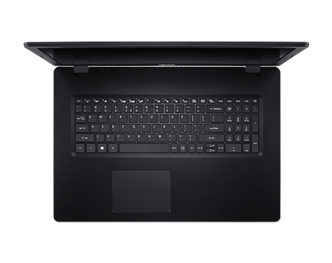 Acer Aspire 3 A317-32-C4JL, Shale Black, 17,3 inch FHD ComfyView LED, Celeron N4120, 4GB DDR4, 256GB PCIe NVMe SSD, Intel UHD GraphicsNo ODD, Wi-Fi 5 AC + BT 4.0, 36 Wh battery, 0.3MP webcam, Windows 10 Home, US Int. Keyboard