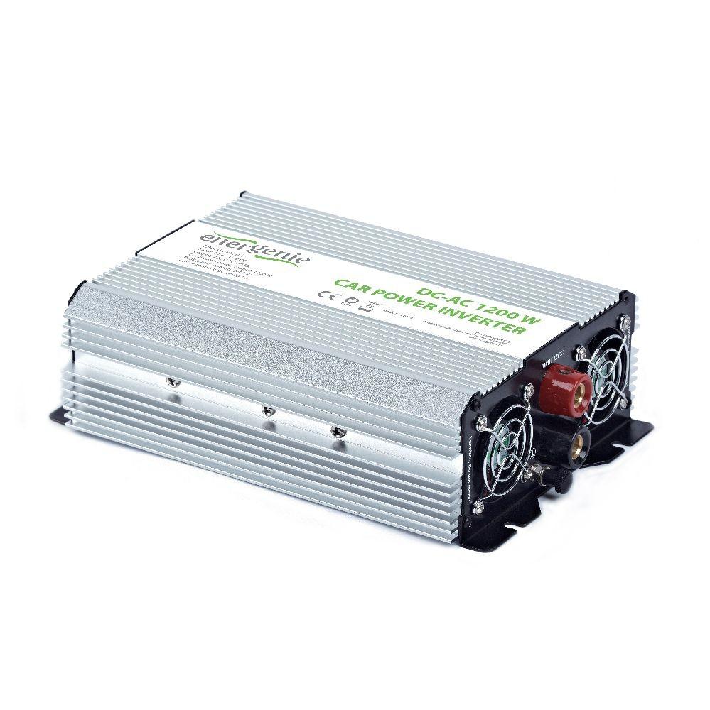 Energenie omvormer voor in de auto, 1200 W
